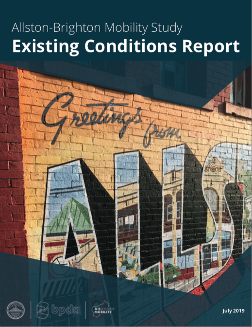 Allston-Brighton Mobility Study Existing Conditions Report