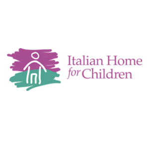 Logo for the Italian Home for Children which houses the Brighton-Allston Mental Health Center